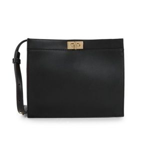 NWT French Connection iman black crossbody bag